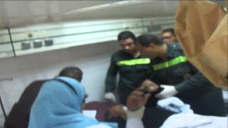 انقاذ 33 سائح من مختلف الجنسيات بعد اشتعال النيران بمركب سياحى