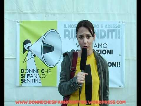 Caterina Guzzanti RIPRENDITI! (donne che si fanno sentire)