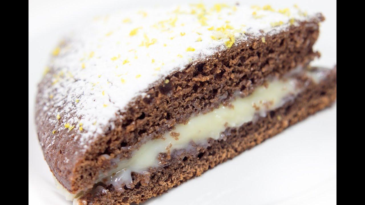 Как сделать простой шоколадный пирог