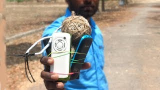 Basic phone's vs Sutli bomb experiment | Best basic phone (keypad) Testing experiments in telugu |