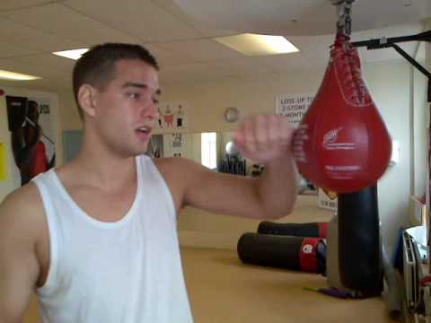 Bfree's Chris tutorial on Speed Ball (Bag) boxing punch training Image 1