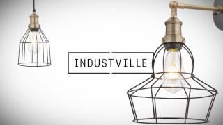 Industville Brooklyn Vintage Retro Lighting Range