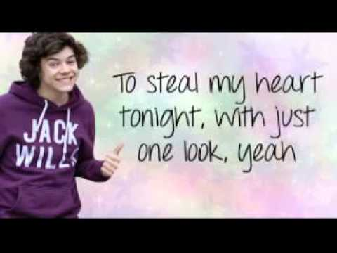 Stole My Heart-one Direction(lyrics+pictures) video