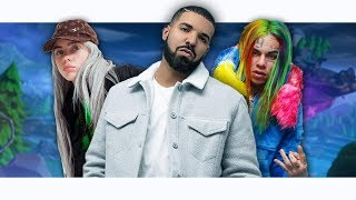 Sing Trolling on FORTNITE | Billie Eilish, Drake, & 6ix9ine