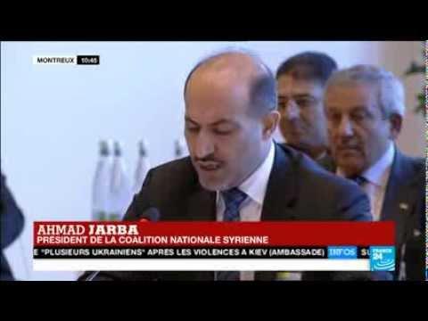 """Ahmad Jarba : """"pour les Syriens, le temps, c'est maintenant le sang"""""""