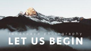 [Channel Trailer] Let us begin ~ Landscape Photography