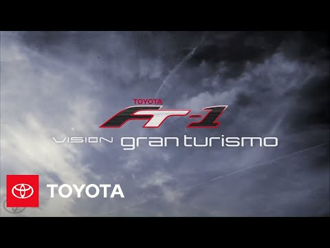 A glimpse of the Toyota FT-1 Vision GT concept coming soon to Gran Turismo®6  | Toyota FT-1