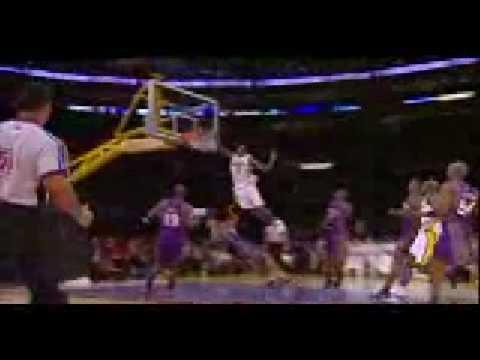 Lakers Celtics 2008 finals championship nba kobe bryant ariza fisher odom gasol bynum dunk grant hill kevin garnett posterize playoffs tim duncan jordan