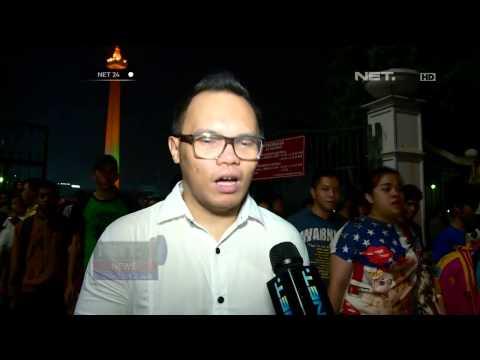 Joko Widodo sambangi konser syukuran rakyat salam tiga jari di Monas - NET24