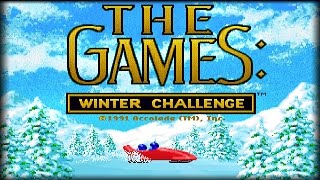 The Games: Winter Challenge (PC/DOS) 1991, Accolade