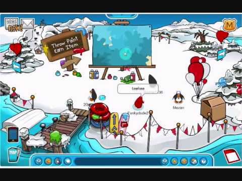 Me Exploring the April Fools Clubpenguin