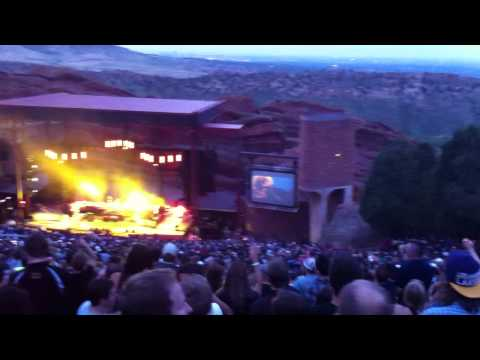 Dispatch - Open Up at Red Rocks 6/3/11 Night 1 - Vid 1 of 6