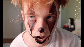 ZOE LAVERNE DOES MY SCARY HALLOWEEN MAKEUP!