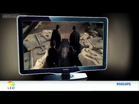 TV Philips LED Full HD Ambilight l Americanas.com