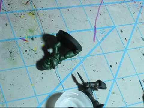 How to paint Dark Angels: Video 2