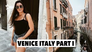 TRAVELING TO ITALY + FIRST DAY IN VENICE