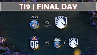 LGD vs Liquid | The International 2019 | Dota 2 TI9 LIVE | Semifinals | Main Event Final Day