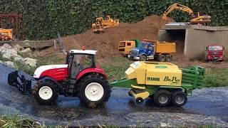 BRUDER Toy TRACTORs for Children SUPER Bruder STEYR Traktor RC converted 🚜