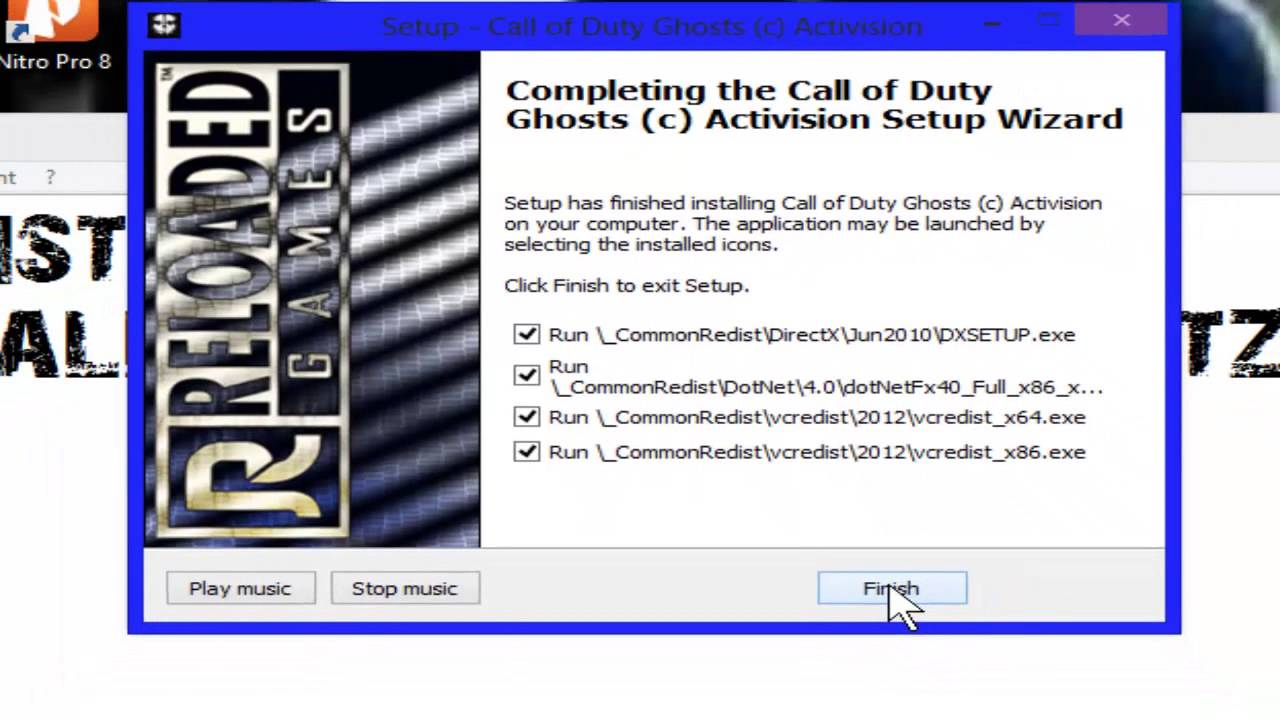 how to download call of duty ghosts reloaded torrent