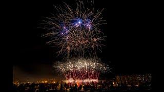 Traca Final Fiestas del Pilar 2017 Zaragoza - Pirotecnia Zaragozana