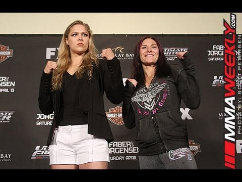Ronda Rousey Talks TUF The Fight I Wanted the Most Was Cat
