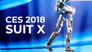 CES 2018 - Suit X Exoskeleton at the Consumer Electronics Show