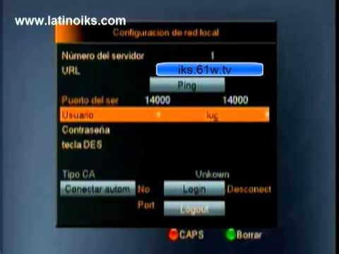 Configurar azamerica s812 y s808 con iks
