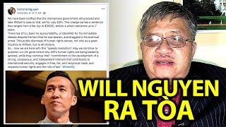 TỪ THỦ ĐÔ: Will Nguyen sẽ ra tòa ngày 20/7, mức án tối đa phạt $2500, tù 7 năm