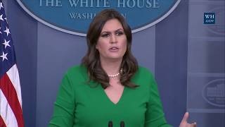 11/16/17: White House Press Briefing