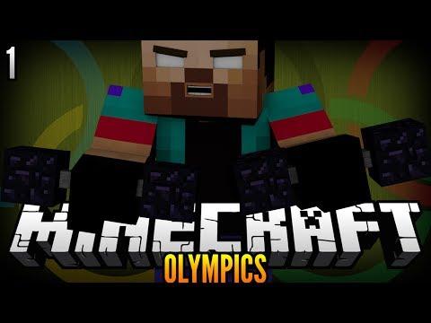 THE MINECRAFT OLYMPICS! (2014 Winter Olympics Remake) Part 1 w/NoahCraftFTW