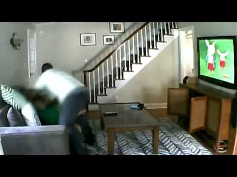 Home Invasion In Millburn Nj Caught On Nanny Cam - Brutal Beating In Front Of Daughter June, 2013 video