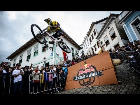 Urban Downhill MTB in Brazil - Red Bull Desafio das Cruzes 2013