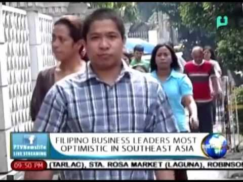 NewsLife: Filipino business leaders most optimistic in Southeast Asia || Apr. 29, 2015