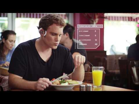 BitBite is an in-ear fitness device that listens to how well you're chewing your food