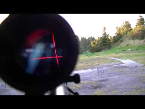 UTG 4x32 5th Gen CQB TS Mil-Dot Scope on Yugo SKS
