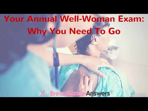 Why Is My Annual Well-Woman Exam Important?