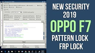 OPPO F7 ( CPH1819 ) New Security 2019 Remove Pattern Lock MRT Tool