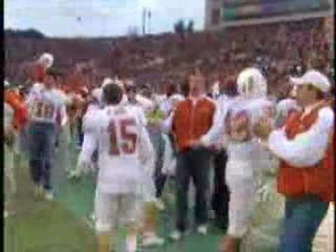 Texas vs Michigan 2005 Rose Bowl - Longhorn highlights Video