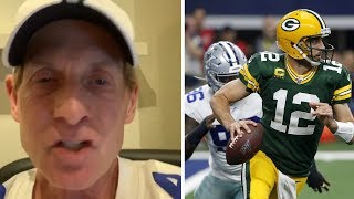 Skip Bayless SALTY With Aaron Rodgers After Cowboys Lose To Packers!