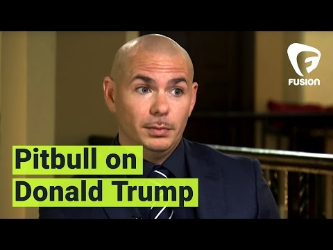Pitbull says he won't go to Trump hotels anymore