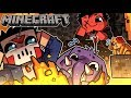 I BUILT AN *EPIC* ROYAL DEATHRUN!   Minecraft (w/ H2O Delirious, Squirrel, & Rilla)