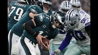 Leighton Vander Esch & Demarcus Lawrence & The Dallas Cowboys Front & vs The Eagles || Film Session