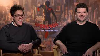 Spider-Man Into The Spider-Verse INTERVIEW | Chris Miller & Phil Lord