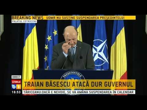 Conferinta Traian Basescu