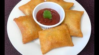Cheesy Maggi Noodles Bread Pockets | Bread Pockets Recipe | Kids Snack - By Sritha