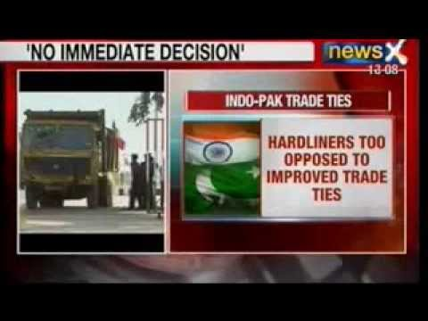 News X: Pakistan denies 'Most Favoured Nation' to India