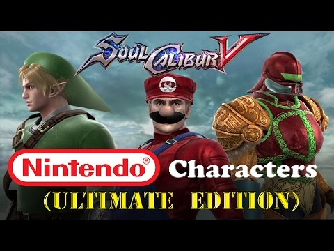 Soul Calibur V Nintendo Characters (ULTIMATE EDITION)