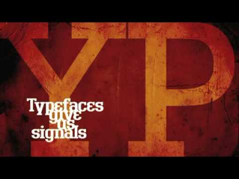 Typefaces give us signals