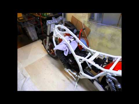 Projet moto 750 FZX