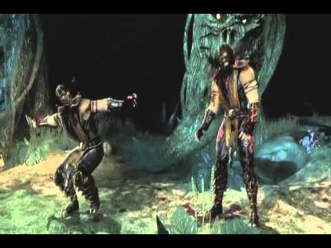 Mortal Kombat Demo Playthrough w/audio